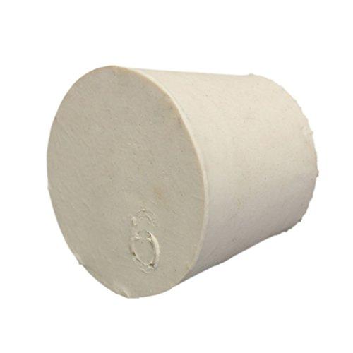 sgerste Labor Vollgummi Plug Stopper fassverschluss Fläschchen konisch Tube Plugs weiß Pack von 5 x 000 #-10 # – Metallic Bronze, 6 # 33 x 25 x 28 mm