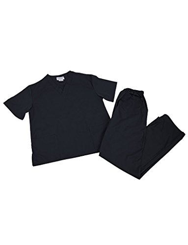 - Natural Uniforms Unisex Scrub Set (2-Piece Set)-Sizes Run Large