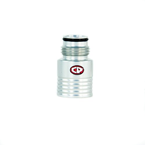 Custom Products Paintball Tank Regulator Extender - Gloss Silver by Custom Products