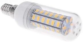PST@ 10Pcs E14 6W 48x5730SMD 550LM Warm White//Cool white Light LED Corn Bulb Warm White AC220V-240V