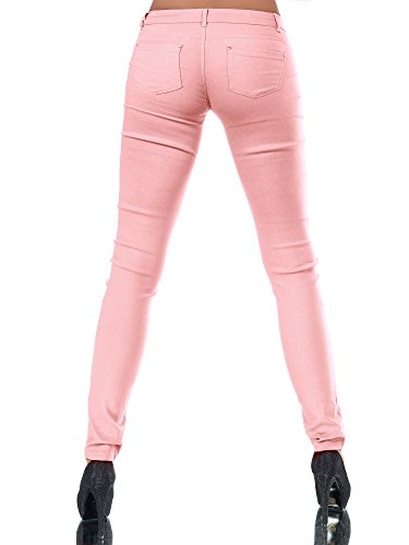 Donna Basic jeans Jeggings Diva Salmone Jeans wxIaqxn4P