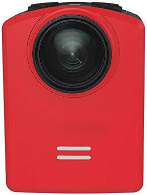 スポーツカメラ HD140度のF2.2防水スポーツカメラ1.5インチ12MP 使用可能 多数バイクや自転車や車に取り付け可能 (Color : Red, Size : One size)