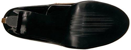 Pleaser Vrouwen Queen04 / Bpt-crsa Slide Pump Black Patent Roomsatijn