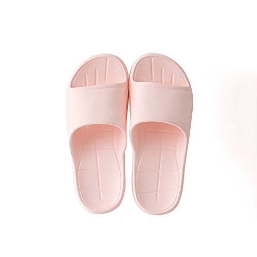 CKH Shower Color Home And Pink Sandals Bathroom Eva Pink Couple Size Non Home Summer slip Shoes Soft Home Ladies Slippers 37 rzrRa