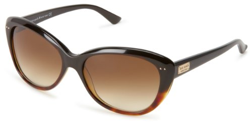 Kate Spade Angeliqs Cat Eye Sunglasses,Tortoise Fade,55 mm