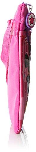 Disney Mickey & Minnie Party Borsa Messenger, 24 cm, 0.48 Litri, Rosa