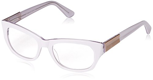 A.J. Morgan Women's Ambrosia Rectangular Reading Glasses, White, 2.25 White Reading Glasses