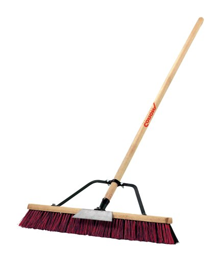Corona BM 61002 Push Broom, 2 Bristles, 24-Inch Wide