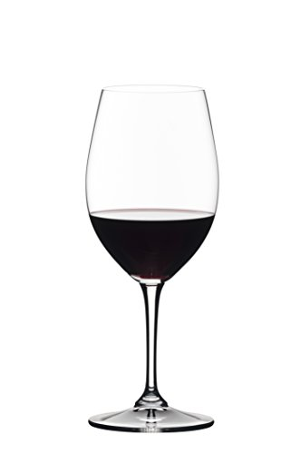 (Riedel 0484/0 Vivant Wine Glass, 19.75 oz, Clear)