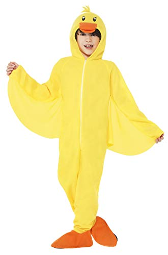 Smiffys Children's Unisex All in One Duck Costume,
