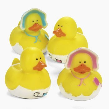 Baby Shower Rubber Ducks (Rubber Ducky Baby Shower Theme)