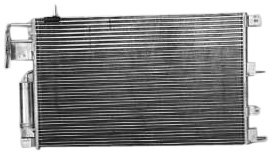 TYC 3672 Ford Focus Parallel Flow Replacement Condenser