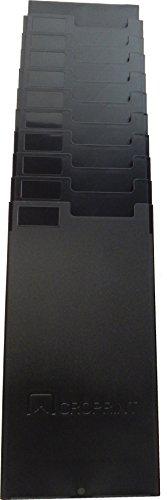 Acroprint M120R 25-Pocket Time Card Rack (Black)
