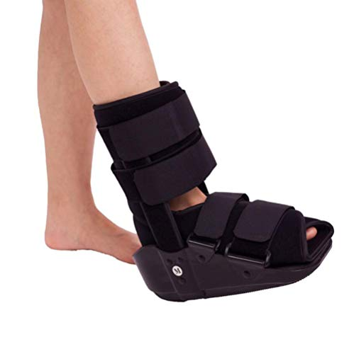 (Air Cam Walker Fracture Boot Short Broken Toe Fixation Shoe for Fracture Recovery, Protection and Healing After Foot or Ankle Injuries,L)