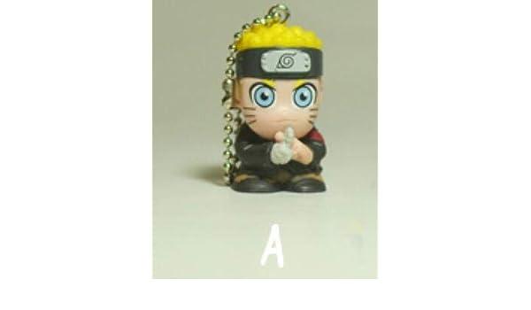 YPT - Llavero, diseño de anime japonés de Naruto, PVC, 1 ...