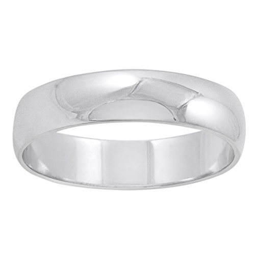 Mens 10k white gold ring