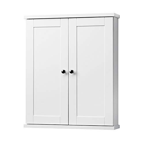 Cabinets Bathroom Shaker Style - Foremost COWW2125 Columbia White Bathroom Wall Cabinet