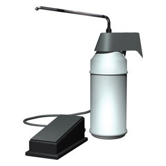 ASI 0349 Soap Dispenser (Foot Operated) - Surface Mounted