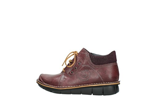8384 50510 Oiled Burgundy Wolky Leather schnuerschuhe nbsp;Gallo wTAqxZA60