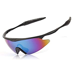 LOMOL Multifunction Windproof UV Protection Sport Cycling Driving Soldiers Tactical Sunglasses(C1)