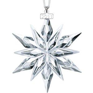 Swarovski Annual Edition Star Ornament 2011