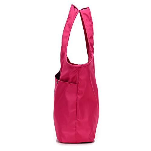 discount Store Big Purple Borsa Tote L in da nylon viaggio Borsa da Bag da impermeabile Mummy viaggio donna Fashion 1wqd5F