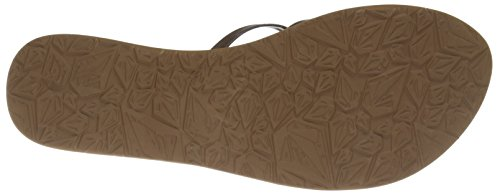 Marrone Infradito Brown School Volcom donna Sndl New qTxxHwtXa
