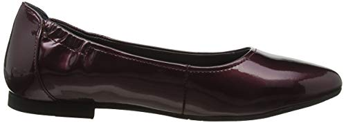 Shoes Ballerines Bordo suede Marc Crack 00852 Rouge Aurelia Femme Lame fxf4w
