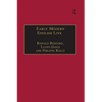 Early Modern English Lives: Autobiography and Self-Representation 1500–1660
