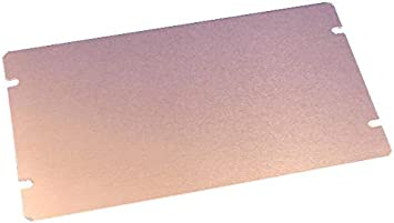Natural 254 mm 1434-108 Aluminium 1444-10825 Aluminum Chassis Enclosures Plate 203.2 mm Pack of 5 Bottom 1434-108
