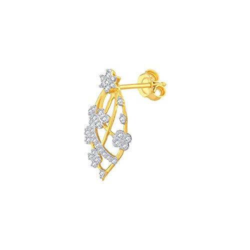 Giantti Diamant Mode Femme Boucles d'oreilles à tige (0.4368CT, VS Clarté, Gh-colour)