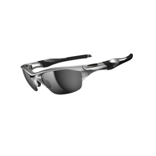 Oakley Men's 0OO9153 Rectangular Sunglasses, Slate Iridium Lens , - Silver Oakley