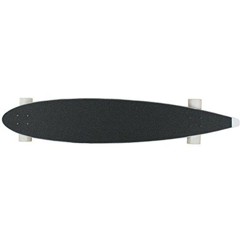 """Moose Longboard Complete 9"""" x 47"""" Pintail WHITE"""