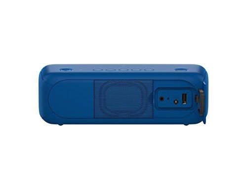 31GQvmUYomL - Sony SRSXB30/BLUE Portable Wireless Speaker with Bluetooth, Blue
