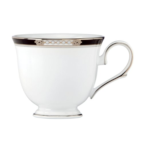 Lenox Hancock Platinum Footed Tea Cup (China Teacup Platinum)