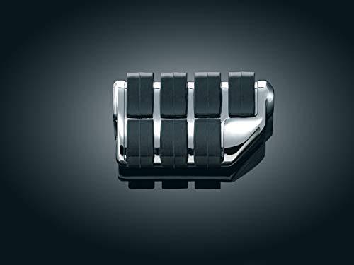 - Kuryakyn 7963 Motorcycle Footpegs: Premium Dually ISO Pegs without Adapters, Chrome, 1 Pair