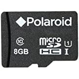 8GB MicroSDHC Memory Card for Smartphones, Tablets and Cameras Class 10 UHS-I By Polaroid