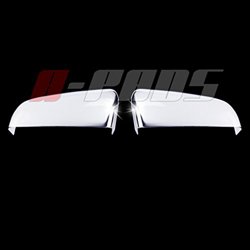A-PADS Chrome Mirror Covers For Ford F-150 2009-2014 - Upper Top Half Mirrors - Chrome Mirror F150 Ford Covers