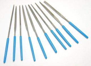 10-PIECE NEEDLE FILE SET.the BEADSMITH NF740