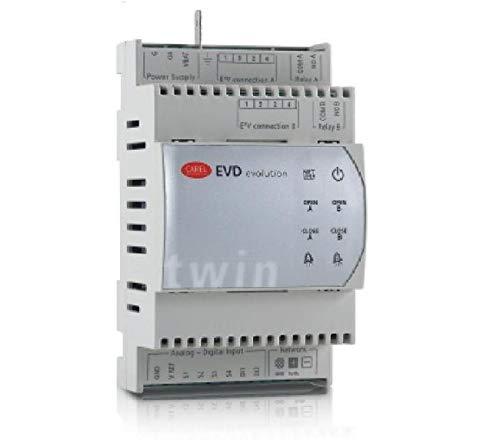CAREL EVD0000T20 Controller, Evolution, Twin Driver, 2CIRCUIT ()