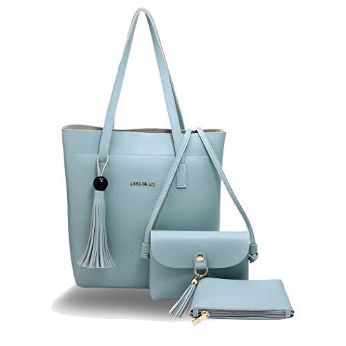 Para Grace Mujer Bolso M l Azul Anna Mochila q8dtxRAq
