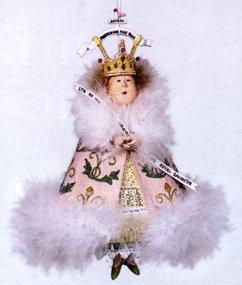 Patience Brewster Christmas Krinkles Misplaced Princess Retired - Ornaments 56-38199KRINK