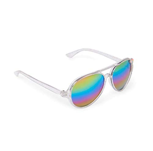 The Children's Place Infant Girl Silver Sunglasses ()