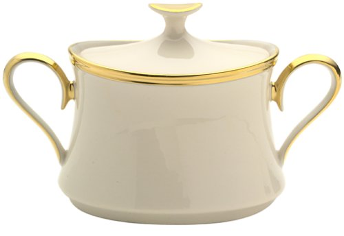 Eternal Fine Dinnerware (Lenox Eternal Fine China Sugar Bowl with Lid)