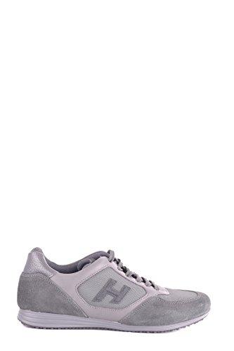 Hogan Sneakers Uomo Mcbi148365o Camoscio Grigio