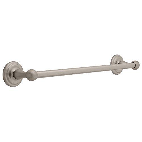 Franklin Brass 9018SN Jamestown, Bath Hardware Accessory, 18-Inch Towel Bar - Satin Nickel