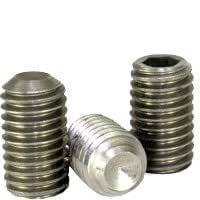 """lot of 50 New 3//8-16 x 1//2/"""" Socket set screw Cup Point 316 Stainless steel"""