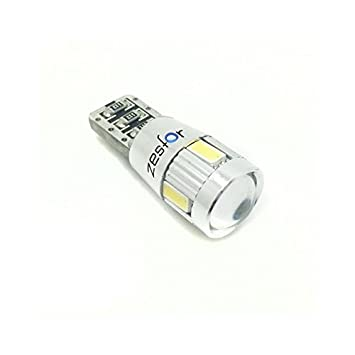 Zesfor® Bombilla LED t10 Chipset Can Bus - Tipo 50: Amazon.es: Coche y moto