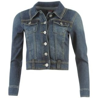Lee Cooper Denim Jacket Ladies Indigo 8 (XS): Amazon.co.uk: Clothing