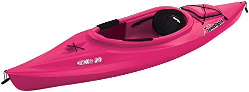 Sun Dolphin Aruba Sit-in Kayak (Pink, 10-Feet) ()